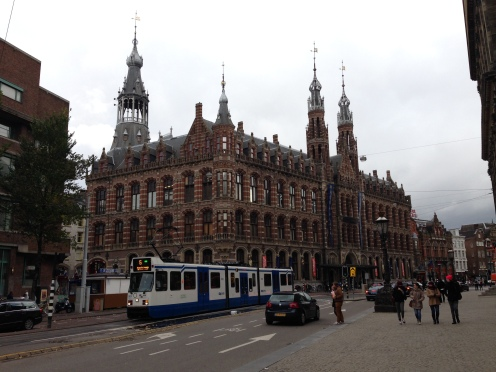 Architecture and trams