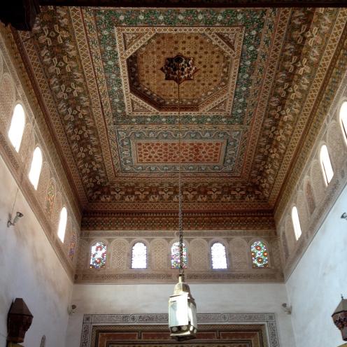Inside Bahia Palace